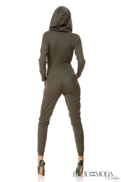 Salopeta Bacio Di Moda Army   COD 0354