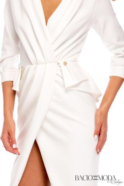 Rochie Bacio Di Moda White  - COD 0397