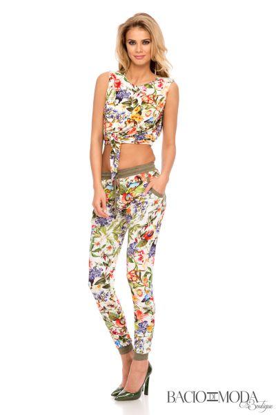 Pantaloni Bacio Di Moda Flower  - COD 0477