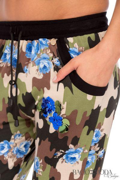 Pantaloni Bacio Di Moda Army - COD 0490