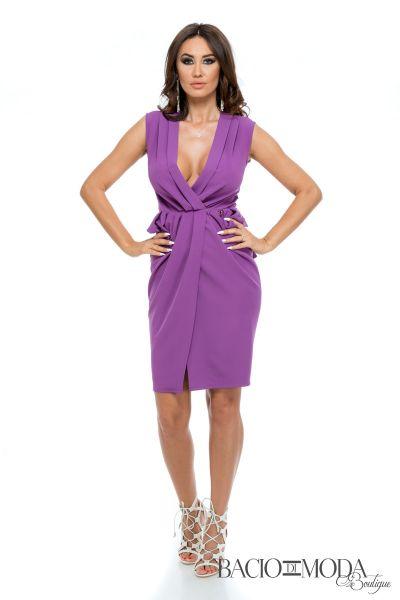 Rochie Bacio Di Moda Purple COD-0529