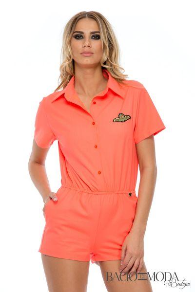 Salopeta Bacio Di Moda Orange   COD 0539