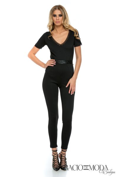 Salopeta Betty Blue Bianca  Salopeta Bacio Di Moda Black - COD 0542