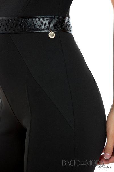 Salopeta Bacio Di Moda Black - COD 0542