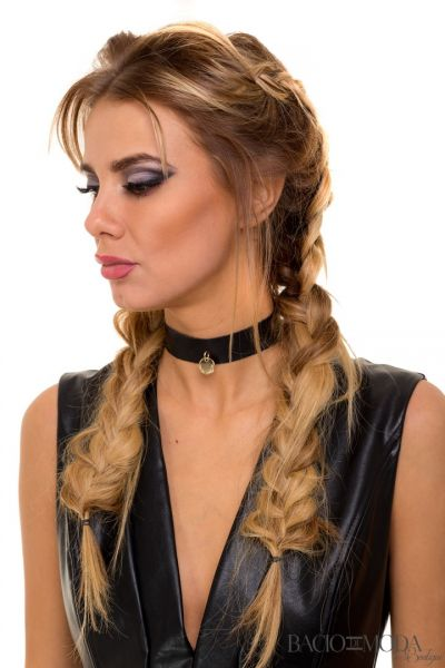 Caciula By Bacio Di Moda Collection Cod: 530343 Colier Bacio Di Moda Choker COD: 0886
