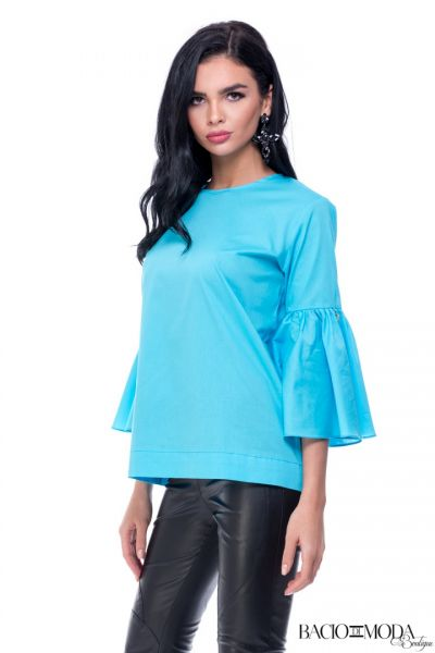 Bluza Bacio Di Moda New Collection COD: 3746 Bluza By Bacio Di Moda Blue Bells COD: 1260