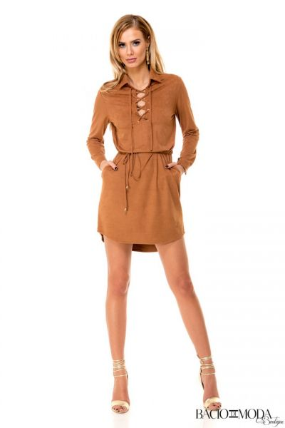 Rochie By Bacio Di Moda Bambi Leather  COD: 1504