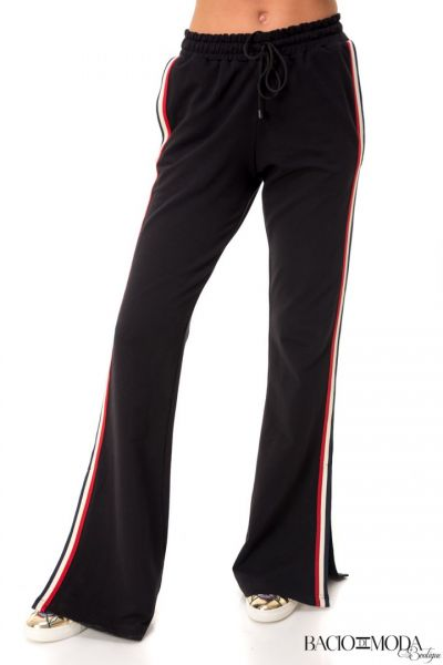 Pantaloni  Bacio Di Moda New Collection Cod: 530188 Pantaloni By Bacio Di Moda Black Sport COD: 1510