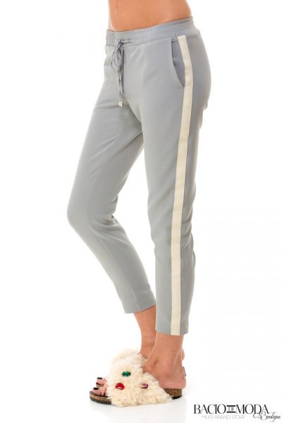 Pantaloni  Bacio Di Moda Fitness Collection COD: 529963 Pantaloni Bacio Di Moda Grey Stripe  COD: 1644