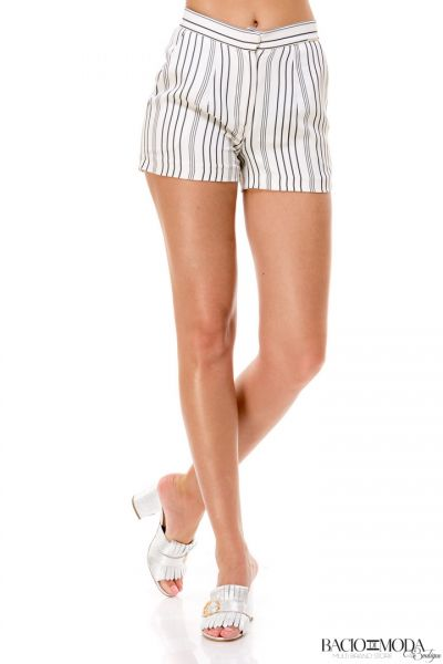 Pantaloni  Bacio Di Moda  Fitness Collection COD: 530045 Pantaloni Bacio Di Moda Short Stripes COD: 1693