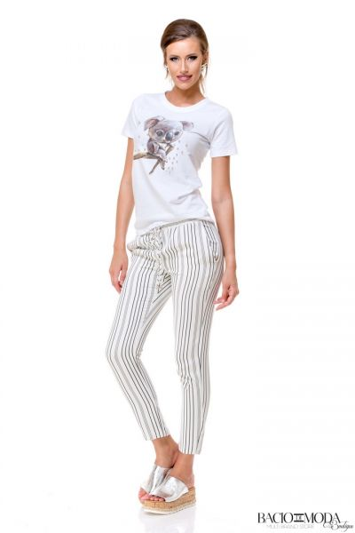 Pantaloni Bacio Di Moda Long Stripes  COD: 1698