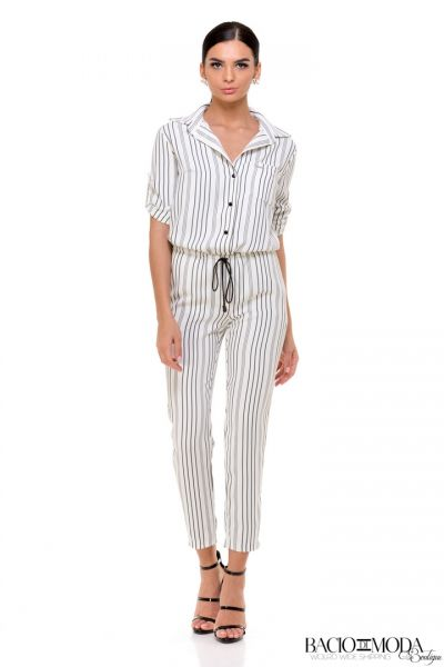 Salopeta Fitness Moves Elisabetta Franchi Autumn-Winter Cod:5396 Salopeta Bacio Di Moda Stripes COD: 1705