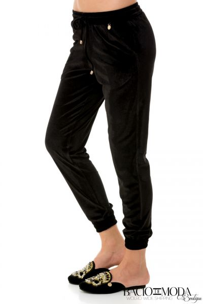 Pantaloni Bacio Di Moda New Collection COD:5468 Pantaloni Bacio Di Moda Black Velure   COD: 1805