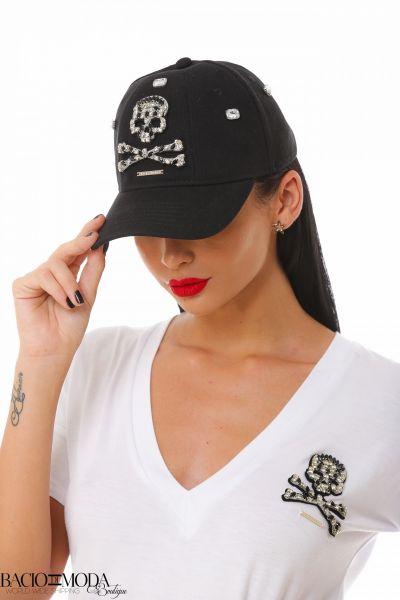 Sapca Bacio Di Moda Logo White COD: 1943 Sapca Bacio Di Moda Bonne  COD: 1903