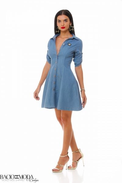 Rochie Bacio Di Moda Denim Closh  COD: 1907