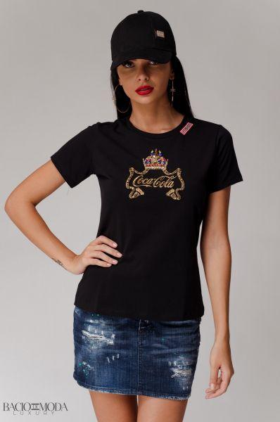 Sapca Bacio Di Moda Logo Black  COD: 1944