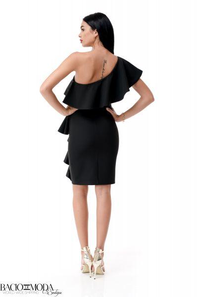 Rochie Bacio Di Moda Nero  COD: 1950