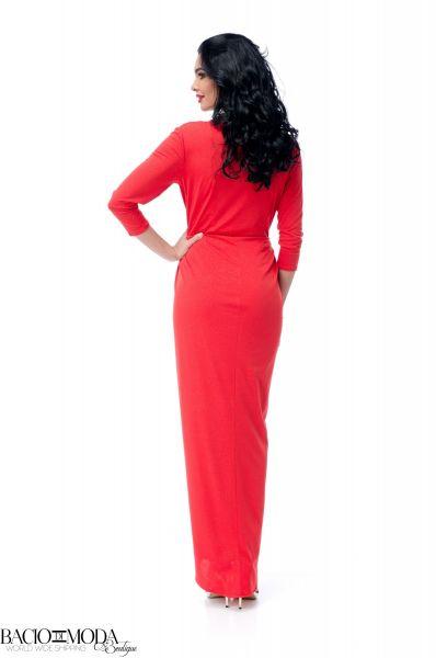 Rochie Bacio Di Moda Long Red COD: 2084