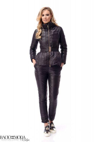 Costum Bacio Di Moda Black Shine - COD 1480 Compleu Bacio Di Moda Winter COD: 2220