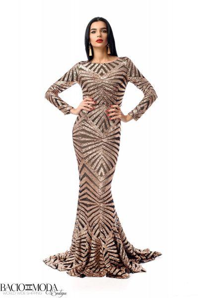 Rochie Bacio Di Moda New Collection Cod:529609 Rochie Glamour  '18 COD:2513