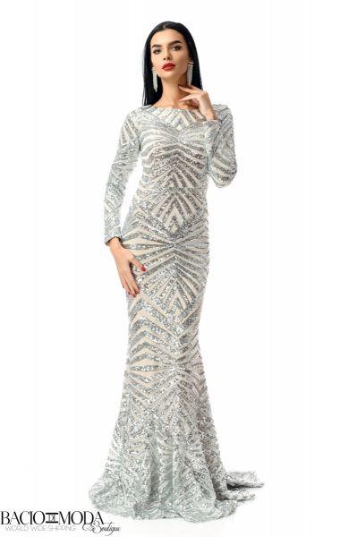 Rochie Bacio Di Moda New Collection Cod:529612 Rochie Glamour  '18 COD:2514