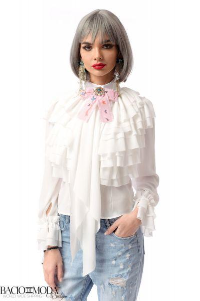 Tricou  By Bacio Di Moda  Collection COD: 3086 Bluza By Bacio Di Moda New  '18 COD: 2962
