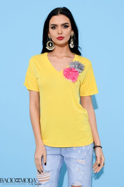 Bluza By Bacio di Moda Flounces  COD: 1256 Tricou By Bacio Di Moda  Collection COD: 3088