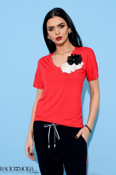 Bluza Antonio Bonnati New Collection Cod:529690 Tricou By Bacio Di Moda Collection COD: 3089