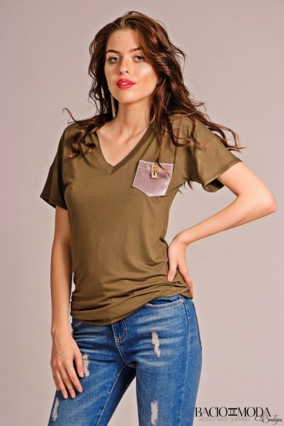 Tricouri Tricou Bacio Di Moda New Collection COD: 3213
