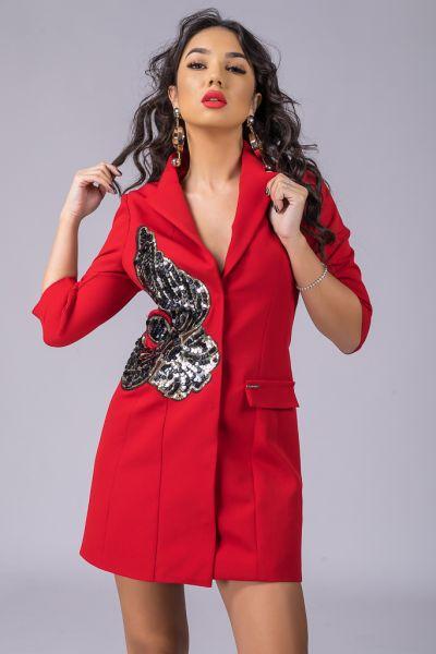 Rochie Bacio Di Moda Purple COD-0529 Rochie Bacio Di Moda COD: 4440