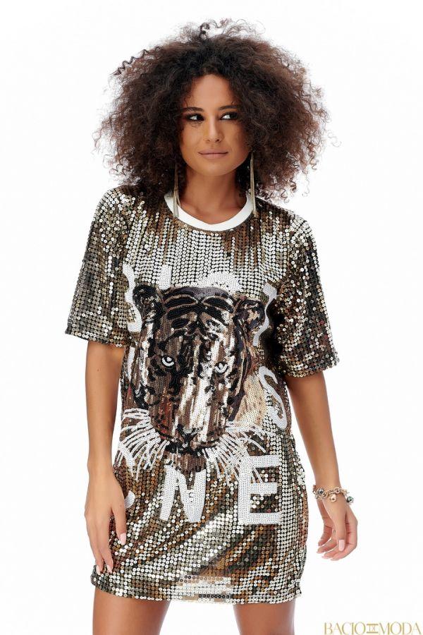 Rochie Bacio Di Moda New Collection Cod:529609 Rochie Isabella Muro New Collection Cod:529524