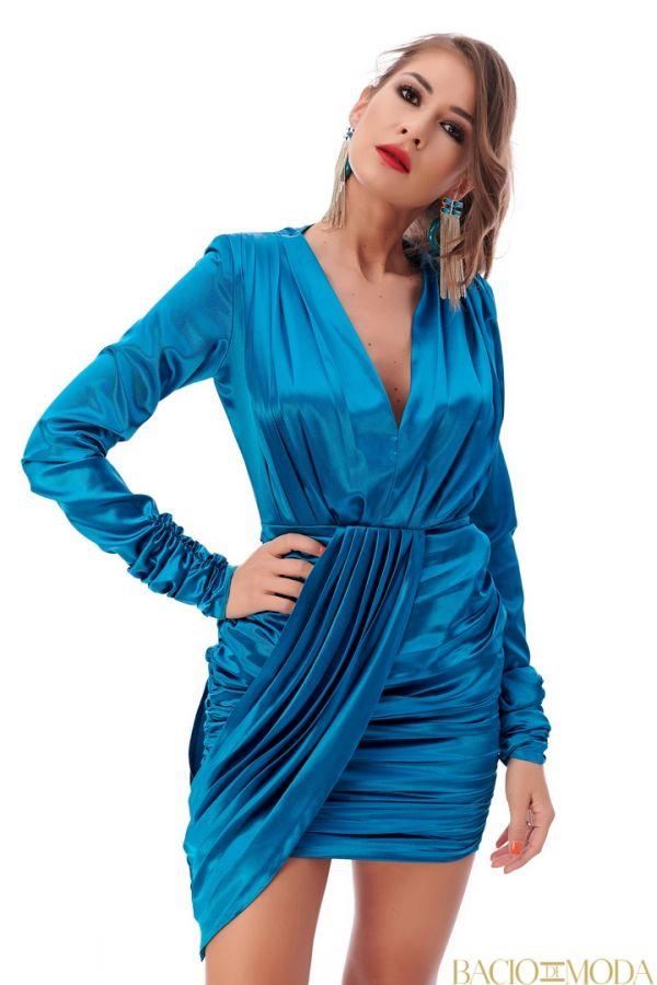 Rochie Bacio Di Moda Purple COD-0529 Rochie Bacio Di Moda New Collection Cod:529626
