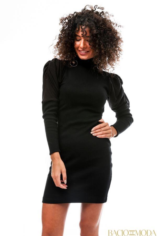 Rochie By Bacio Di Moda Tassels Black  COD: 1248 Rochie Bacio Di Moda New Collection COD: 529734