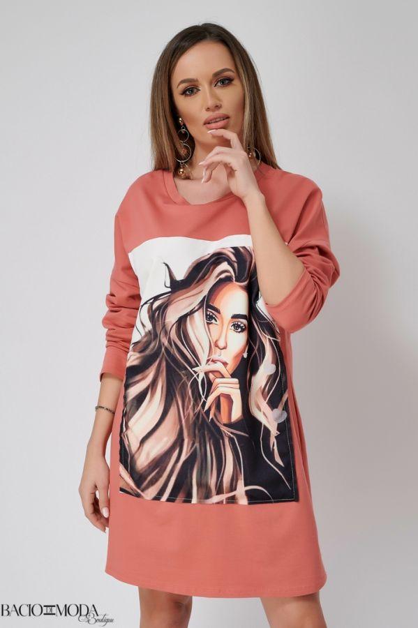 Rochie Bacio Di Moda New Collection COD: 3474 Rochie Isabella Muro New Collection COD: 529822