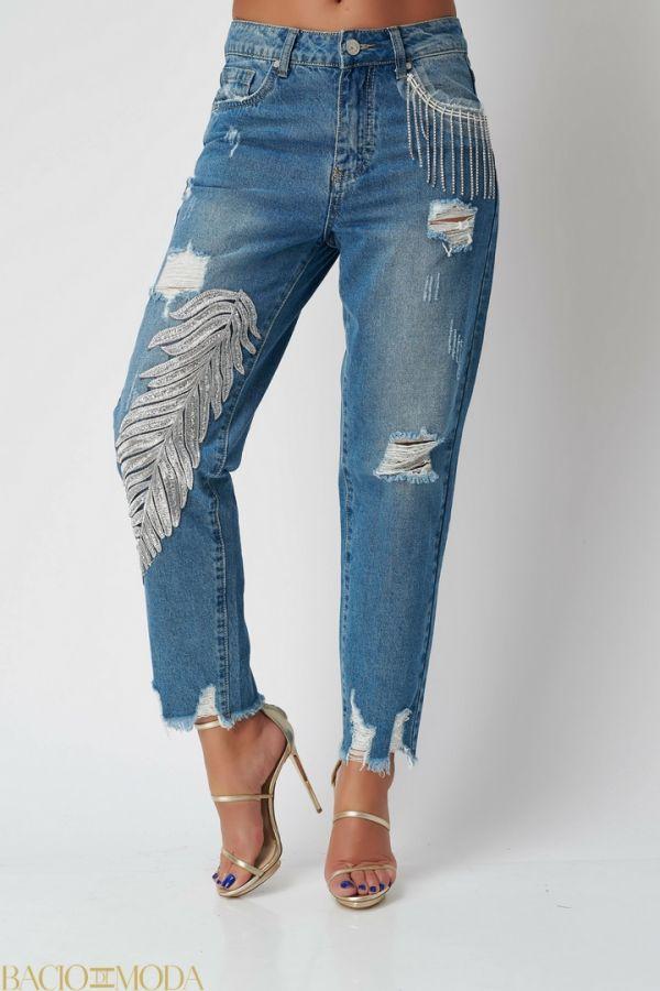 Pantaloni By Bacio Di Moda Grey Sport  COD: 1509 Jeans Antonio Bonnati New Collection COD: 529858
