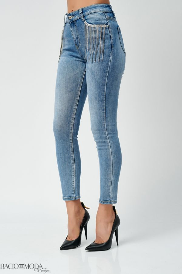 Pantaloni Bacio Di Moda Short Rose  COD: 1647 Jeans Antonio Bonnati Collection COD: 529988