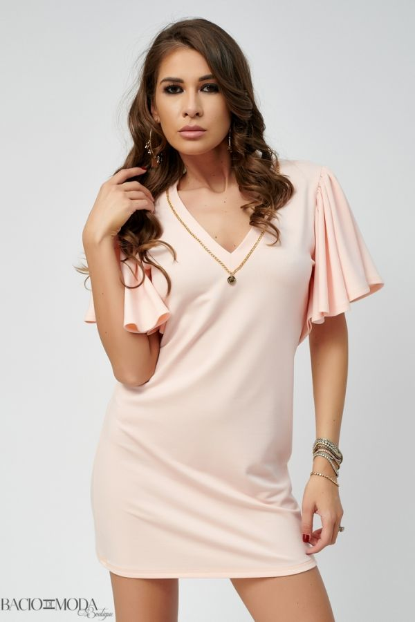 Rochie By Bacio Di Moda Mint Saten  COD: 1448 Rochie Bacio Di Moda Collection COD: 530000