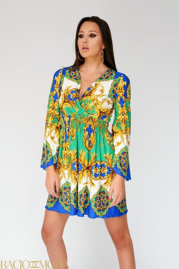 Rochie New By Bacio Di Moda  '18 COD: 2807 Rochie  Bacio Di Moda New Collection Cod: 530179