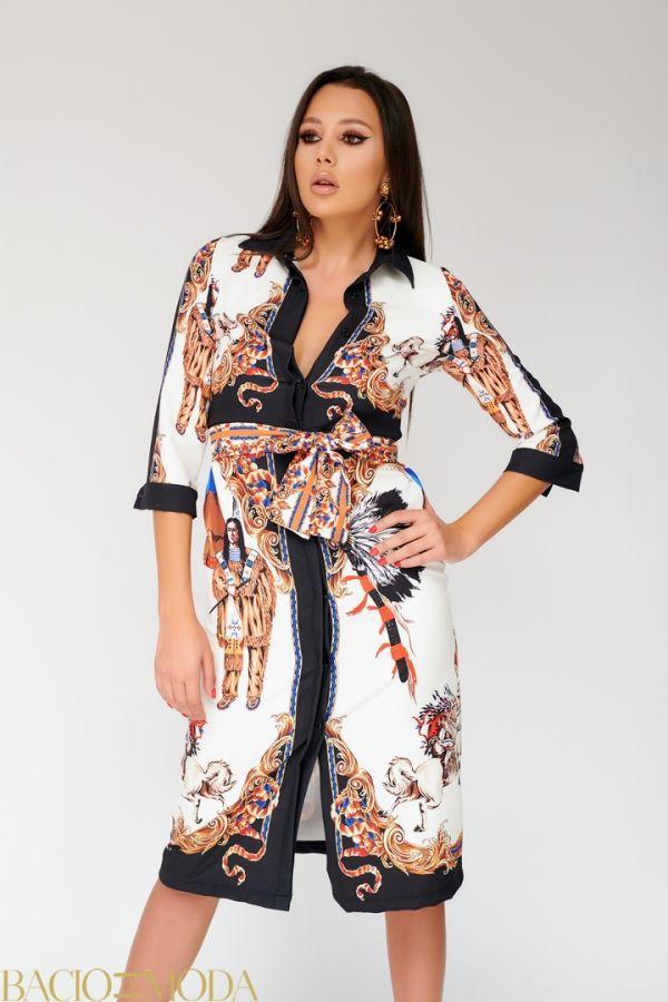Rochie By Bacio Di Moda Mint Saten  COD: 1448 Rochie Antonio Bonnati New Collection Cod: 530215
