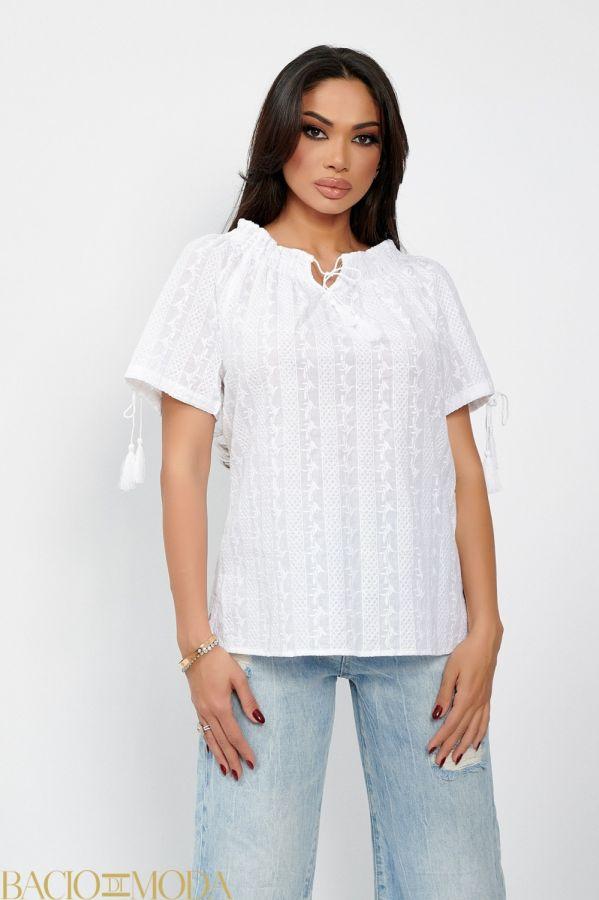 Bluza By Bacio di Moda Flounces  COD: 1256 Bluza Ie Isabella Muro Collection Cod: 540130