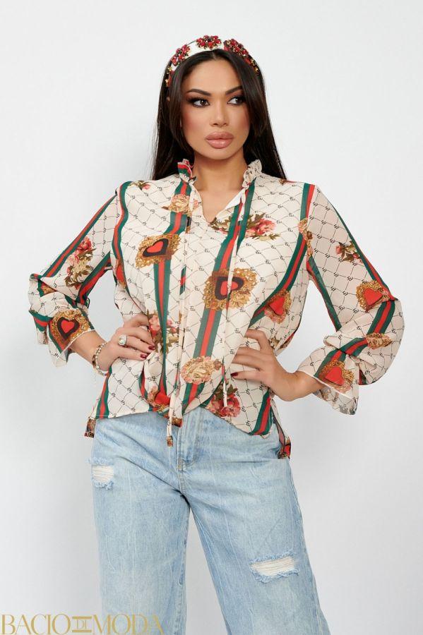 Bluza By Bacio Di Moda Luxe  COD: 1498 Bluza Isabella Muro Collection Cod: 540131
