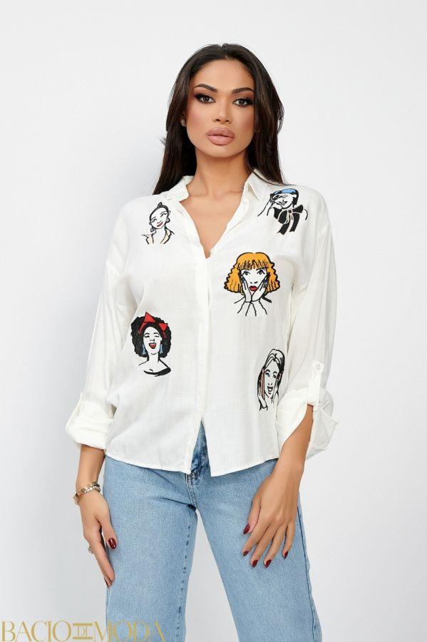 Tricou Bacio Di Moda Long Black  COD: 1601 Camasa Isabella Muro Collection Cod: 540133