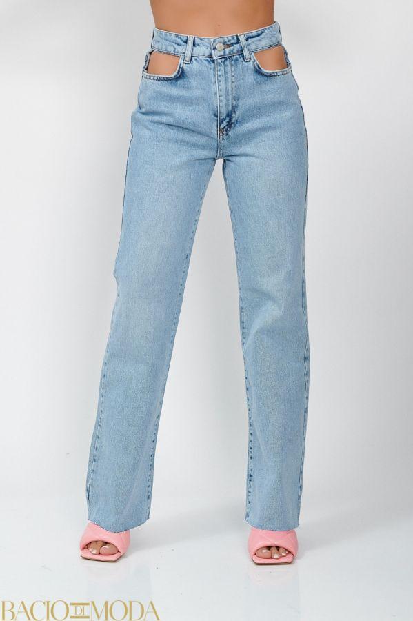 Pantaloni Bacio Di Moda Clasic  - COD 0493 Blugi Isabella Muro Cod: 540182
