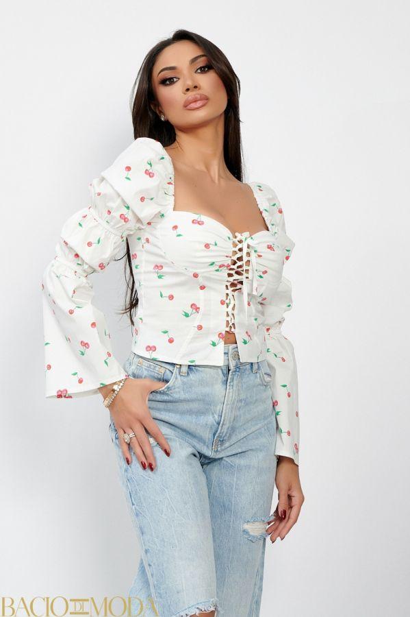 Bluza By Bacio Di Moda Luxe  COD: 1498 Bluza Isabella Muro Cod: 540184