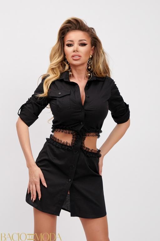 Rochie Bacio Di Moda Purple COD-0529 Rochie Bacio Di Moda Cod: 540263