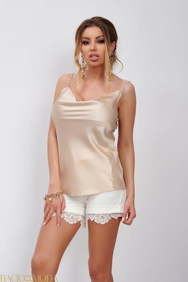 Bluza By Bacio Di Moda Luxe  COD: 1498 Maiou cu Strasuri Antonio Bonnati Cod: 540303