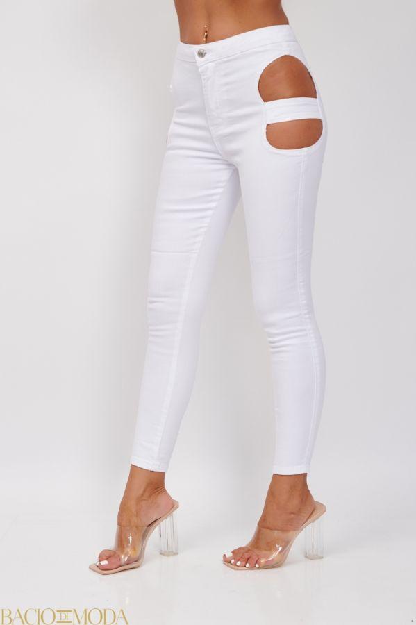 Pantaloni Bacio Di Moda Black Velure   COD: 1805 Jeansi Asimetrici Albi Antonio Bonnati Cod: 540403