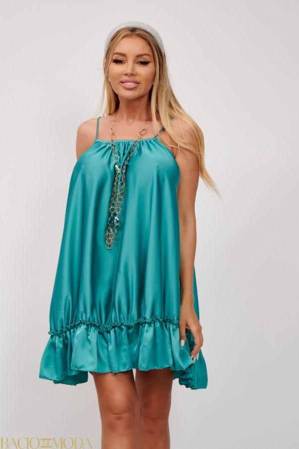 Rochie  Bacio Di Moda New Collection Cod: 530181 Rochie Din Satin Babydoll Antonio Bonnati Cod: 540419