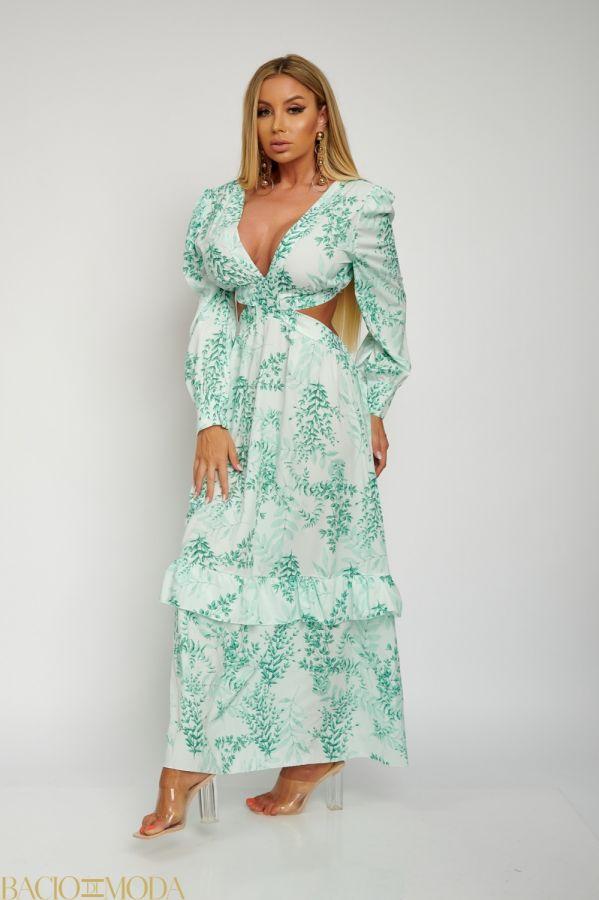 Rochie Bacio Di Moda Short  COD: 1611 Rochie Lunga Multicolora Decupata Antonio Bonnati Cod: 540484