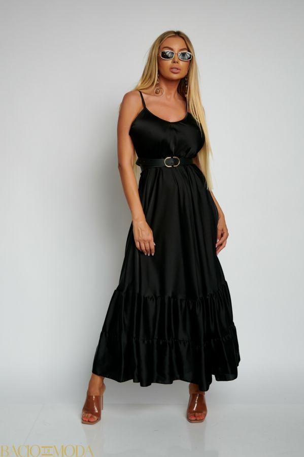 Rochie Bacio Di Moda Long  COD: 1619 Rochie Din Satin Lunga Isabella Muro Cod: 540503